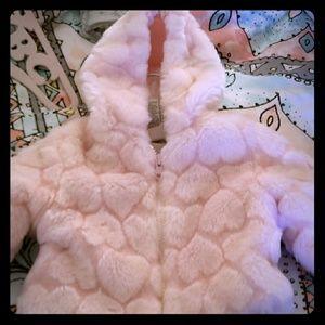 Baby Girls Faux Fur Coat